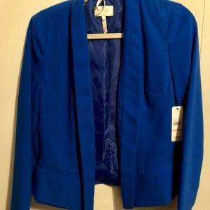 NWT Laundry by Shelli Segal cobalt blue blazer
